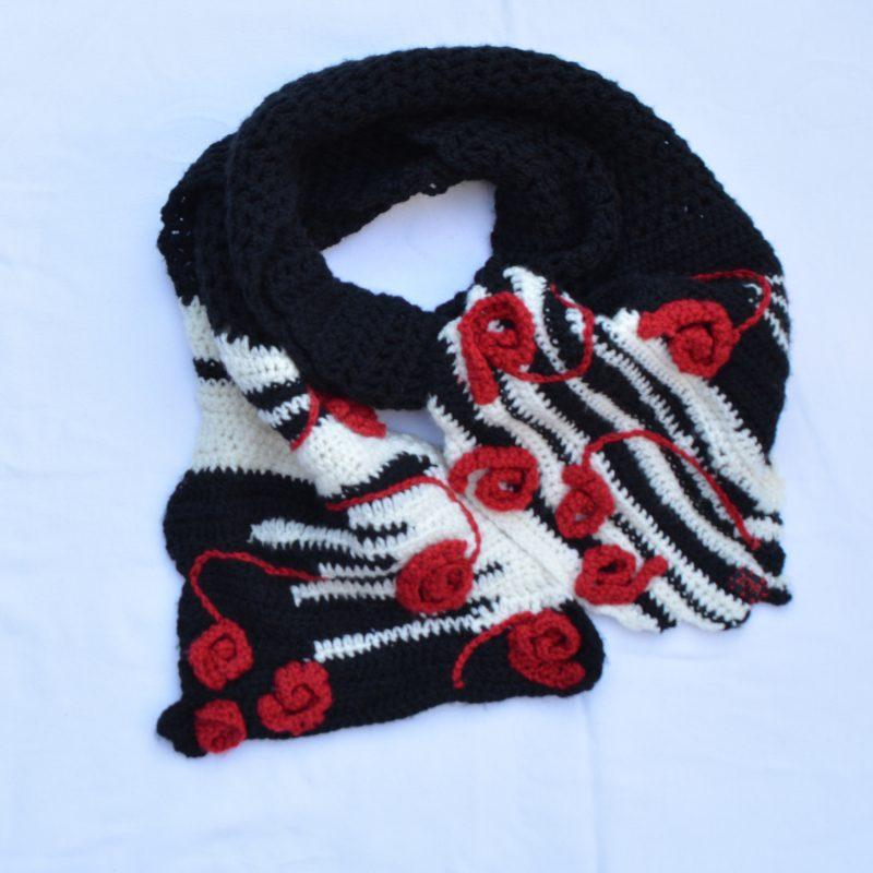 grijze sjaal 39 95